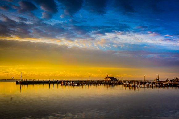 Bellport Dock Sunrise